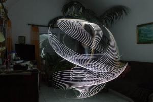 Home lightpainting